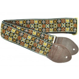 Souldier Guitar Strap Woodstock Gold GS0296NM01WB