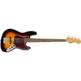 Squier-Classic-Vibe-'60s-Jazz-Bass-Fretless-3-Colour-Sunburst-Front