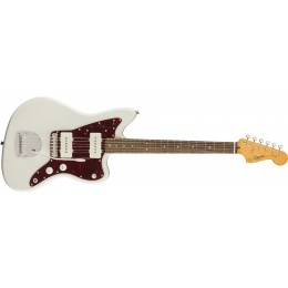Squier-Classic-Vibe-'60s-Jazzmaster-Laurel-Fingerboard-Olympic-White-Front