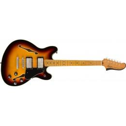 Squier Classic Vibe Starcaster 3-Tone Sunburst Front