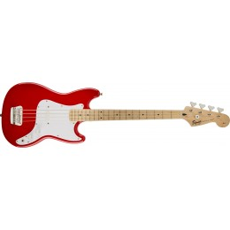 Squier Affinity Bronco Bass Torino Red Front