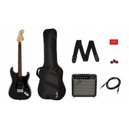 Squier Affinity Series Stratocaster HSS Pack Charcoal Frost Metallic Main