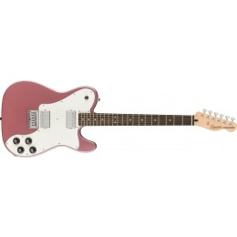 Squier Affinity Telecaster Deluxe Burgundy Mist Front