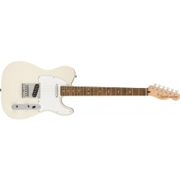 Squier Affinity Series Telecaster Laurel Fingerboard White Pickguard Olympic White Front