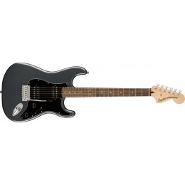 Squier Affinity Stratocaster HH Charcoal Frost Metallic Front