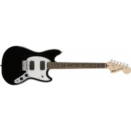 Squier Bullet Mustang HH Black Electric Guitar