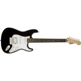 Squier Bullet Strat with Tremolo HSS Black Front