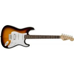 Squier Bullet Stratocaster HSS Brown Sunburst Front