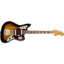 Squier Classic Vibe 70s Jaguar 3-Colour Sunburst Front