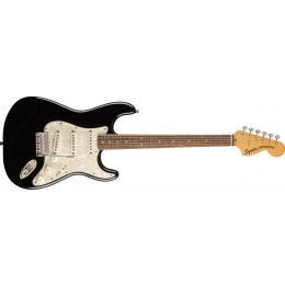 Squier Classic Vibe '70s Stratocaster Black Front