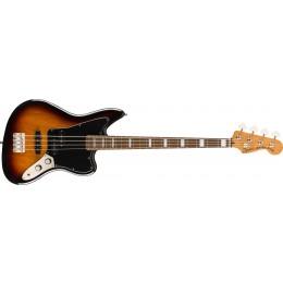 Squier Classic Vibe Jaguar Bass 3-Colour Sunburst Front