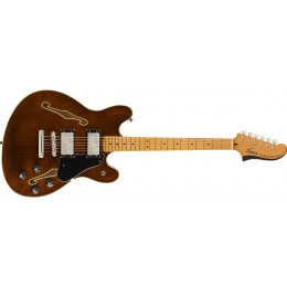 Squier Classic Vibe Starcaster Walnut Front