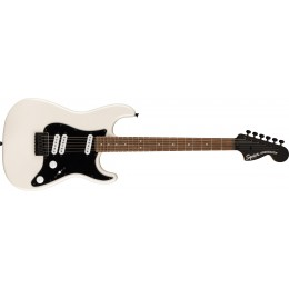 Squier Contemporary Stratocaster Special HT Laurel Fingerboard Black Pickguard Pearl White Front