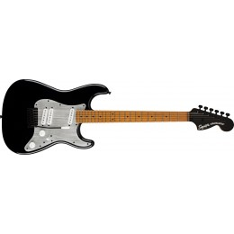 Squier Contemporary Stratocaster Special Roasted Maple Fingerboard Silver Anodized Pickguard Black Front