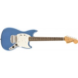 Squier FSR Classic Vibe '60s Mustang Lake Placid Blue Front