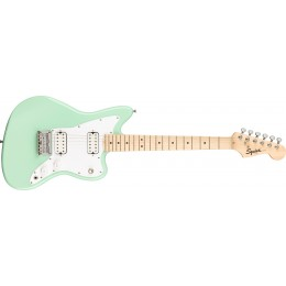 Squier Mini Jazzmaster HH Surf Green Front