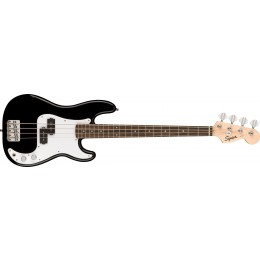 Squier Mini Precision Bass Black Front