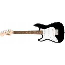 Squier Mini Stratocaster Left-Handed Black Front