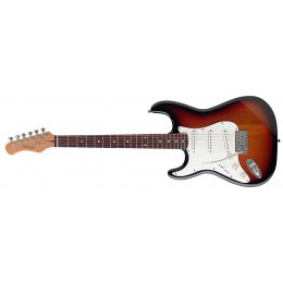Stagg S300LH-SB Standard S Electric Guitar Left Handed Sunburst