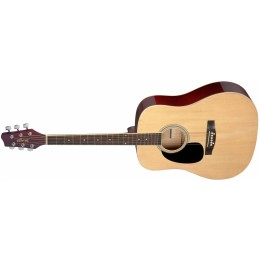 Stagg SA20D 3-4 Acoustic Guitar Natural Front