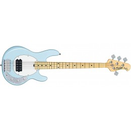 Sterling by Music Man StingRay Short Scale Bass Daphne Blue Front