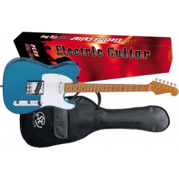 SX-STL50+-Electric-Guitar-Lake-Placid-Blue-Package