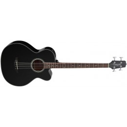Takamine GB30CE Electro-Acoustic Bass Black Front