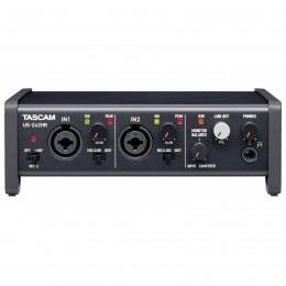 Tascam US-2x2HR USB Audio Interface Front