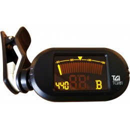 TGI 81 Clip On Tuner Chromatic