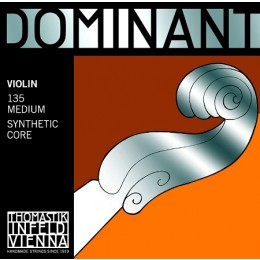 Thomastik Infeld Dominant Violin Strings 135 Medium Synthetic Core