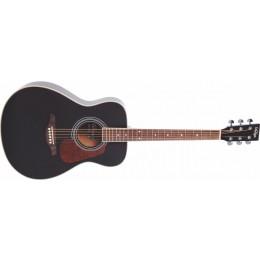 Vintage V300 Acoustic Guitar Starter Package Black