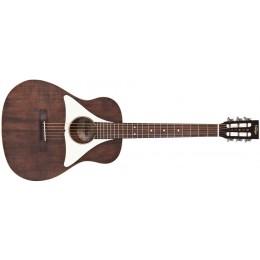 Vintage VGE800N Gemini Baritone Paul Brett Electro Acoustic Guitar