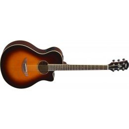 Yamaha APX600 Old Violin Sunburst Front