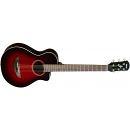 Yamaha APXT2 3/4 Travel Guitar Dark Red Burst Front