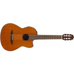 Yamaha NCX1 Natural Electro Classical Guitar Front