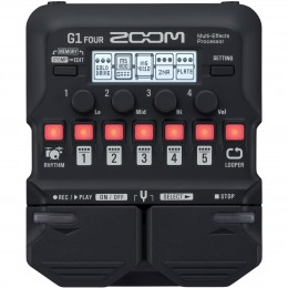 Zoom G1 Four Guitar Multi-Effects Pedal Front