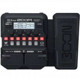 Zoom G1X Four Guitar Multi-Effects Pedal With Expression Front