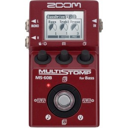 Zoom MS-60B Multistomp bass multi effects pedal