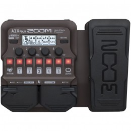 Zoom A1X Four Acoustic Guitar Multi-Effects Pedal Front