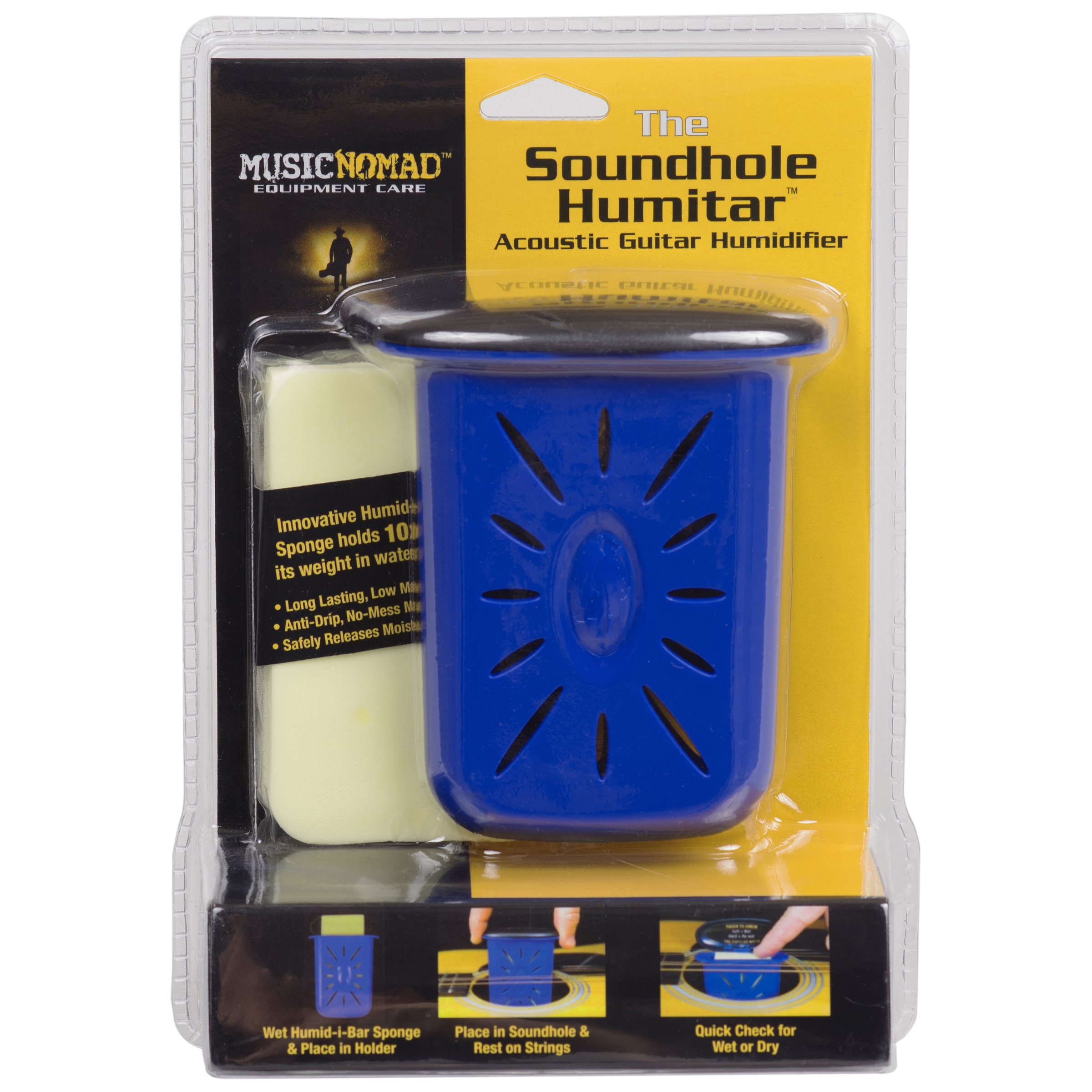 MusicNomad Humitar Acoustic Guitar Soundhole Humidifier