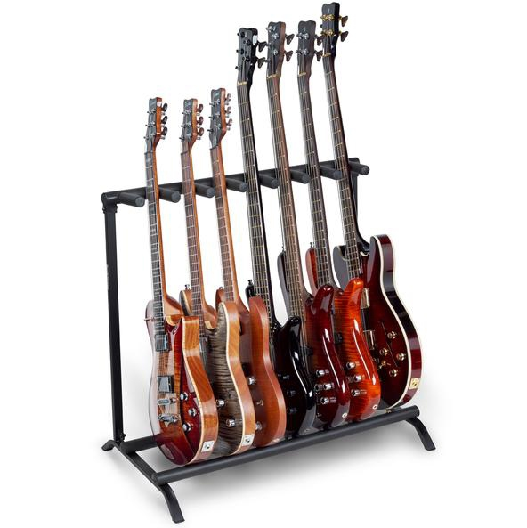 RockStand Multiple Guitar Rack Stand For 7 Electric Guitars Basses Flat-Pack