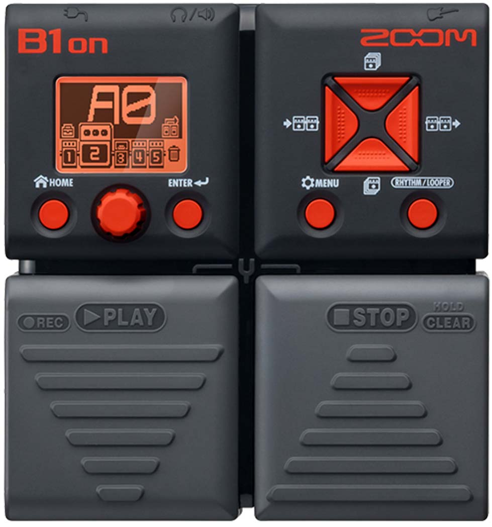 Zoom B1on Bass Multi Effects Pedal