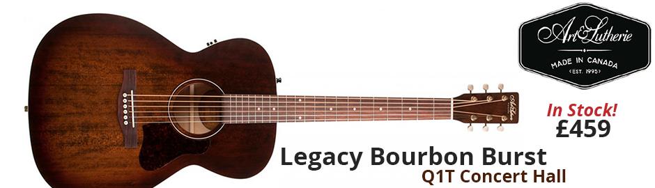 Art & Lutherie Legacy Bourbon Burst Q1T Concert Hall