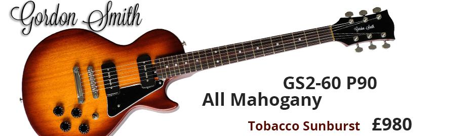 Gordon Smith GS2-60 P90 All Mahogany