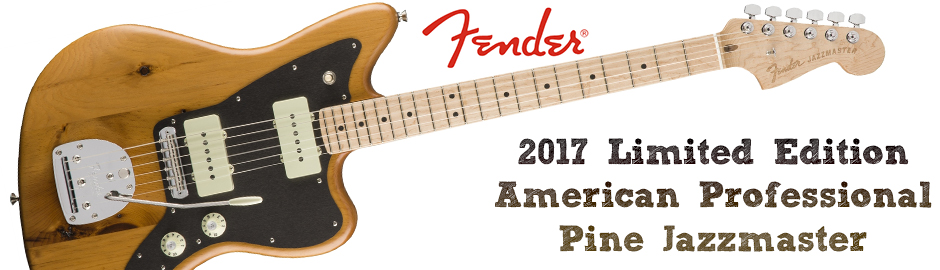 Fender 2017 Limited Edition American Pro Pine Jazzmaster