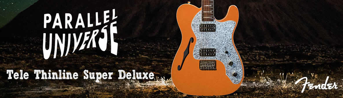 Fender Parallel Universe Thinline Tele Super Deluxe