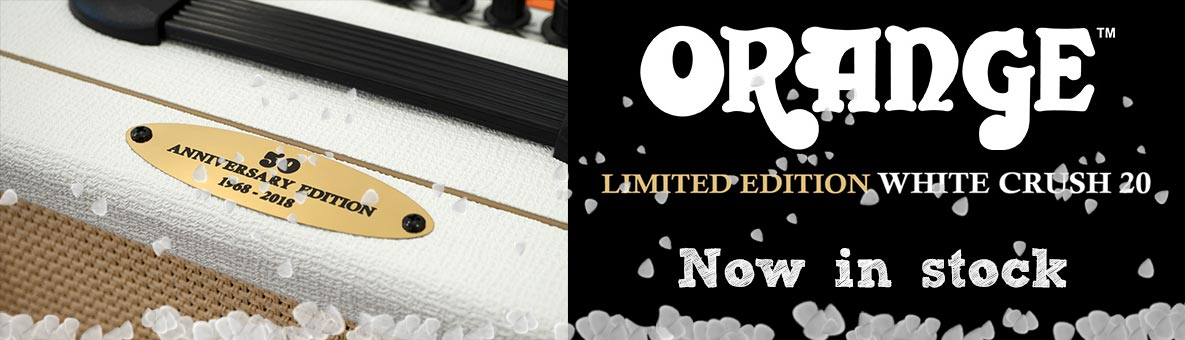 Orange Crush 20 White Limited Edition