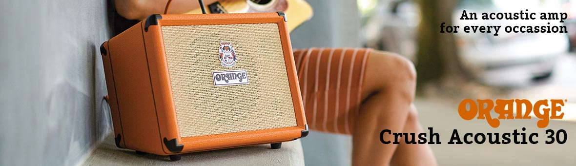 Orange Crush Acoustic 30 Home Page Banner