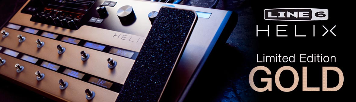 Line 6 Helix Gold Limited Edition