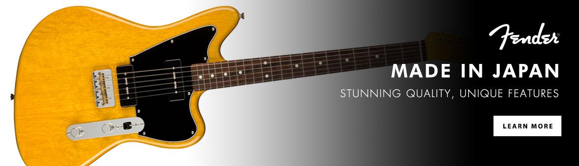 Fender Made in Japan Guitars